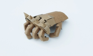 Sorcha Tudor Williams - Joint Enterprise II, 2014, 50 x 40cm, cardboard and paper