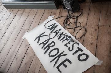 Manifesto Party, Counter - photo credit A.Tixiliski