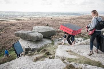Bouldering Landscape & Phenomenology workshop, Andy Whall - photo credit A.Tixiliski