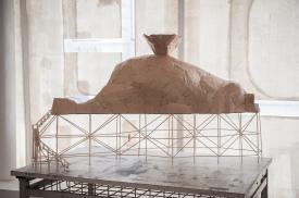 Model for Banqueting Hall Cavern Touring Replica, Bridgette Ashton - photo credit A.Tixiliski