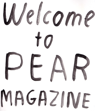 Pear Magazine title